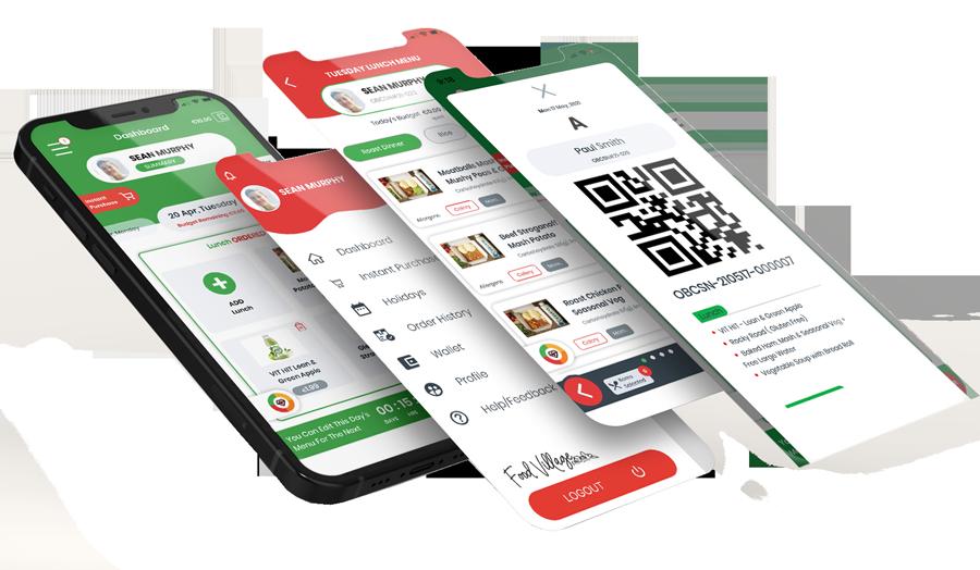 Food-Village-Phone-App-Screens-Stacked
